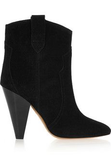 Isabel Marant Roxann suede ankle boots  | NET-A-PORTER
