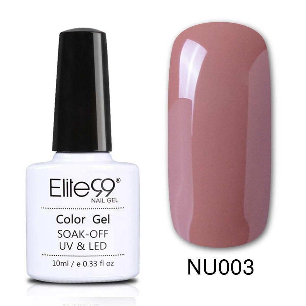Elite99 Nude Color UV Gel Nagellack Semi Permanent Stamping Email Lukcy Lack Nagel Maniküre Malerei Gellak Hybrid Lack   – Products