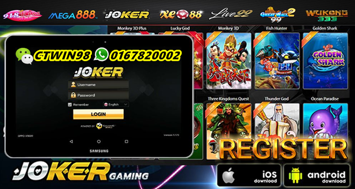 Joker Slot Online Casino Malaysia Joker Online Casino Joker Game