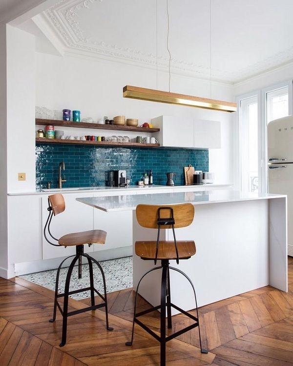 Les cr dences de cuisine tendance en 2019 deco chambre cuisine ouverte cr dence cuisine et - Zellige de cuisine ...