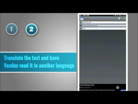 Voxdox Text To Speech Pro 20 Languages Aplicativos