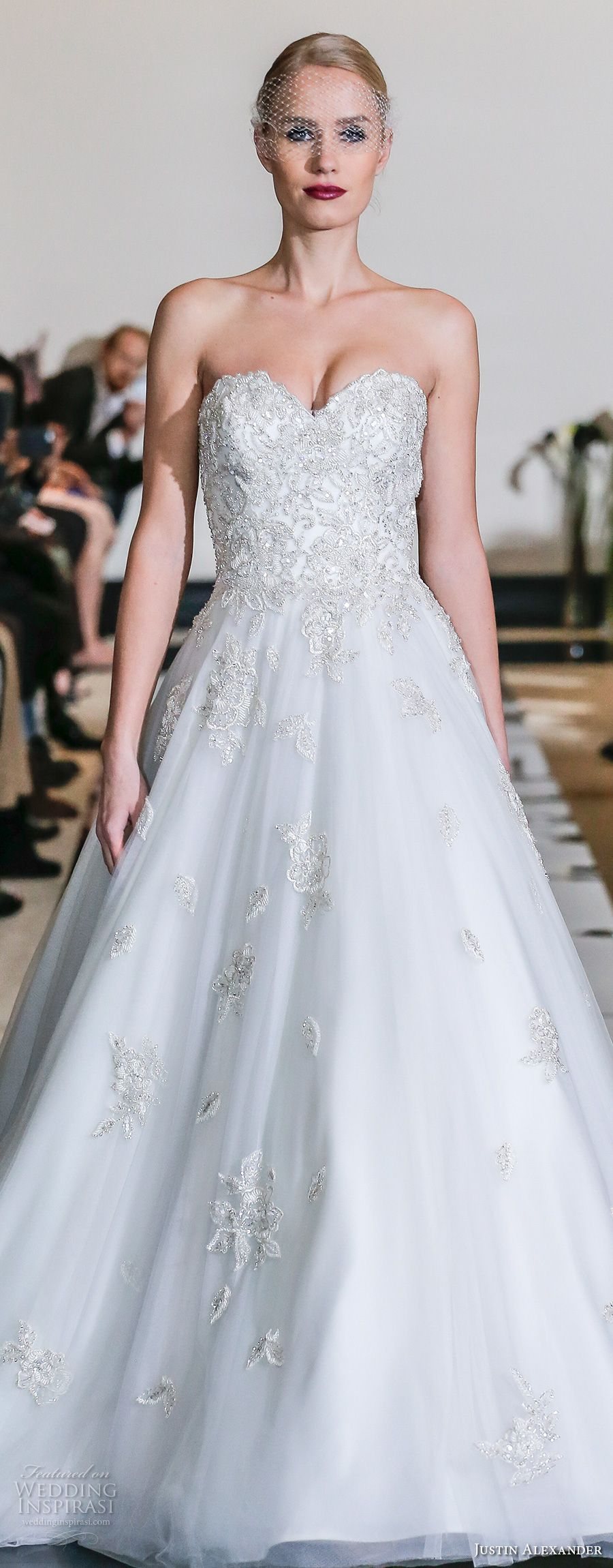 Justin Alexander Spring 2018 Wedding Dresses — New York Bridal ...