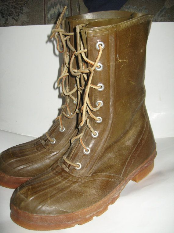 True Vintage Converse Boots Tall Brown By