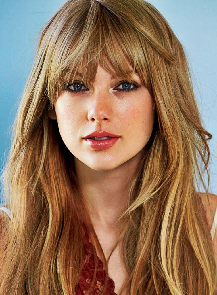 11 long choppy hairstyles with bangs match with all facial ...