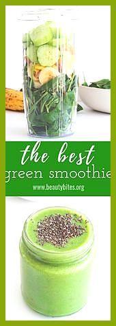 Der beste grüne Smoothie #Beste #Der #Fitness food fish #Fitness food photography #Grüne #Smoothie