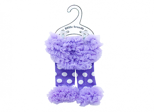Adorable ruffled bloomers with matching leg warmers. 6 - 18 months