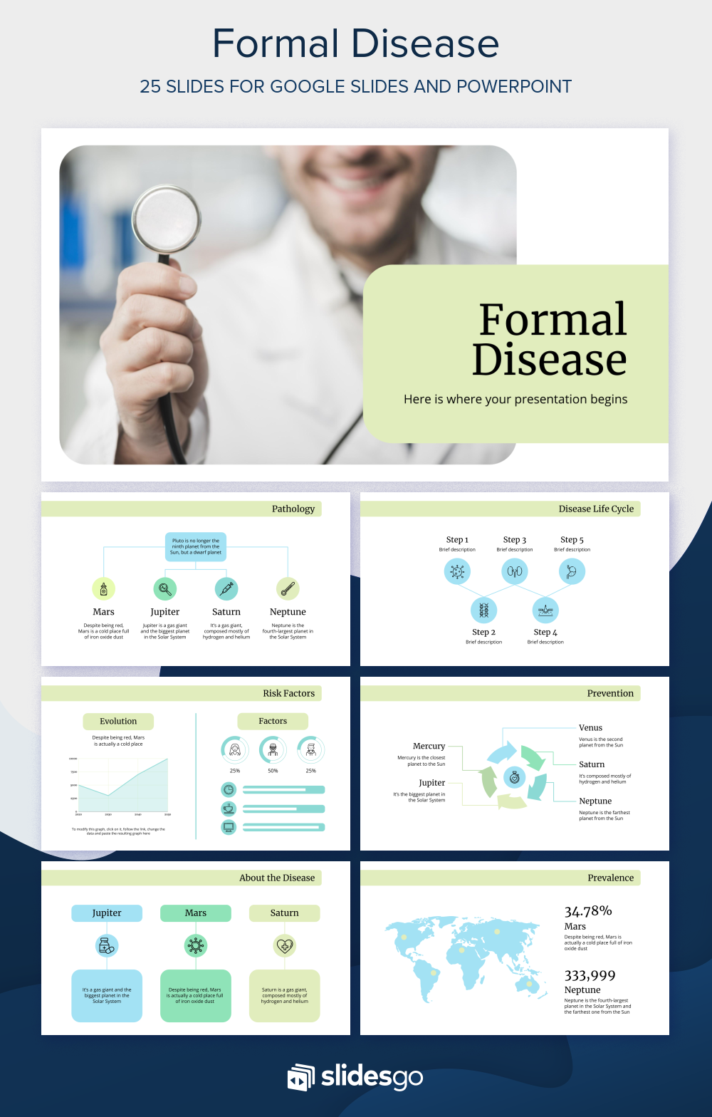 Customize This Free Medical Theme And Template For Google Slides And Powerpoint To Talk About A Powerpoint Presentation Design Powerpoint Powerpoint Templates