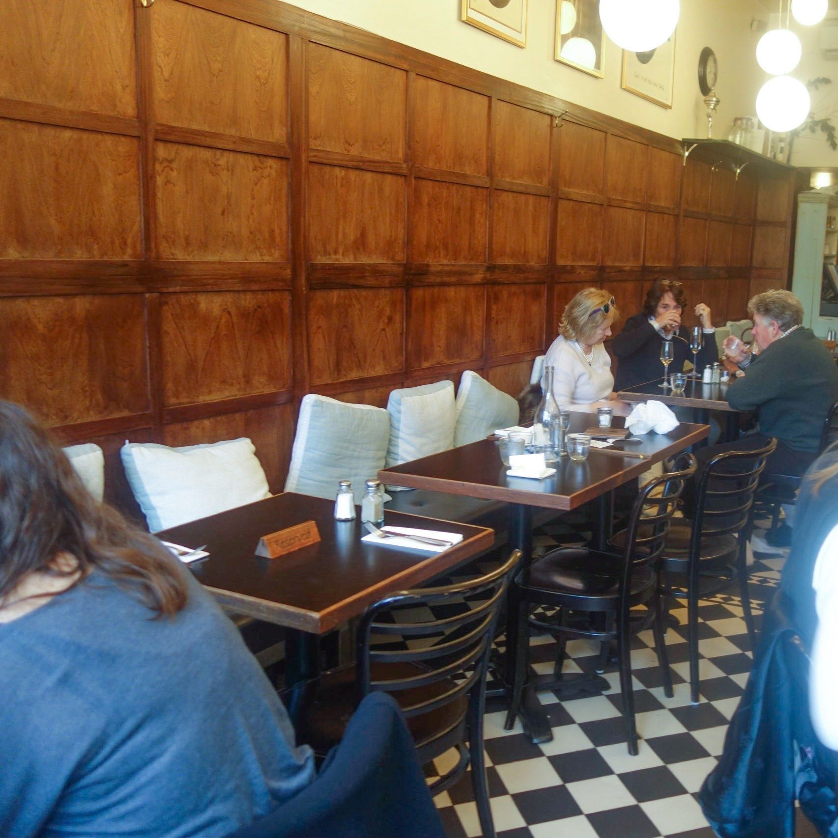 Goode and Wright, Portobello Road. A great French/British bistro that does fantastic breakfast and lunch.