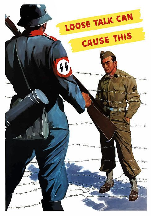 World War 2 Poster (American) #propaganda #worldwar2