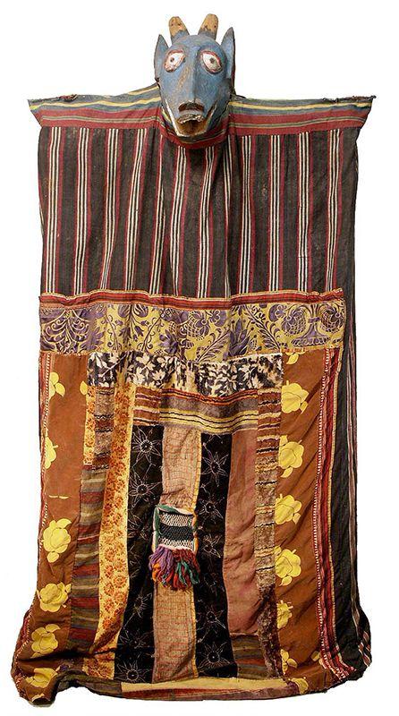 YORUBA EGUNGUN COSTUMES - YORUBA/YORBA/YOROUBA - NIGERIA, REPUBLI
