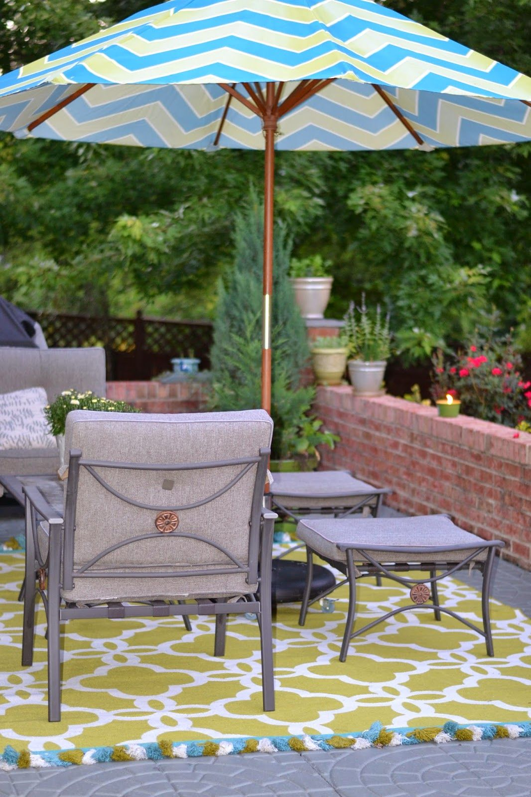resemblance of make an exciting zone in your patio with world