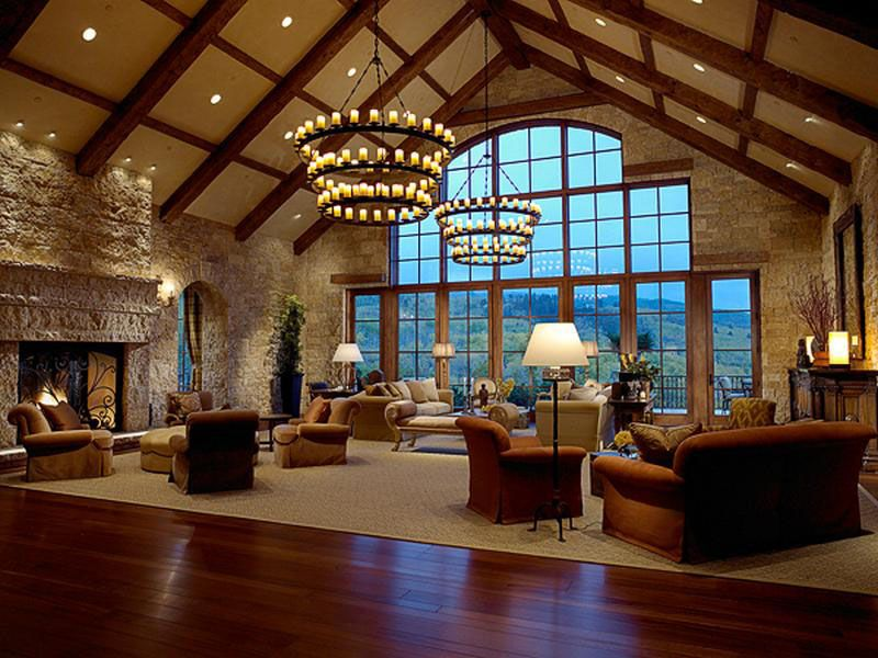 Inspired By 18th Century Tuscan Estate, This Luxury Home Located In Aspen,  Colorado Overlooks