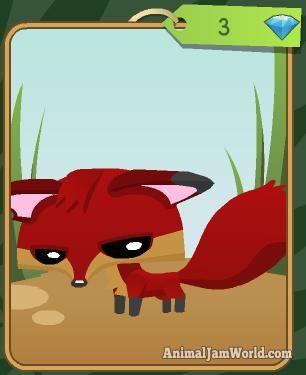Animal Jam Diamond Shop Items Pet Fox AnimalJam DiamondShop
