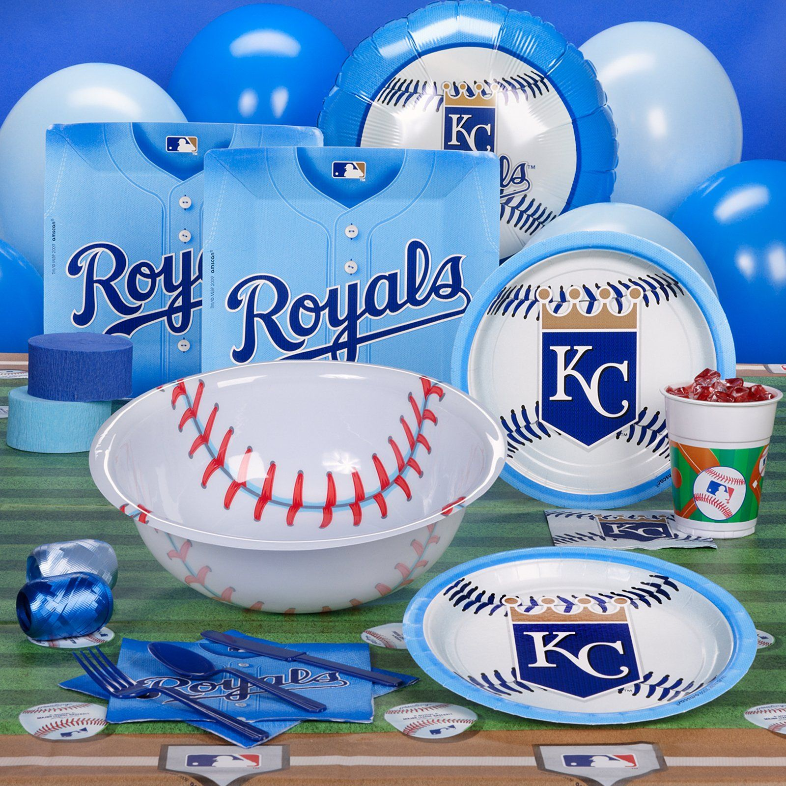 Kansas City Royals Party Supplies At Birthday Express
