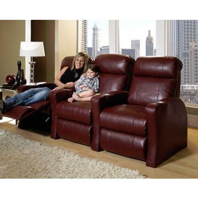 Row One Contemporary Home Theater Recliners.