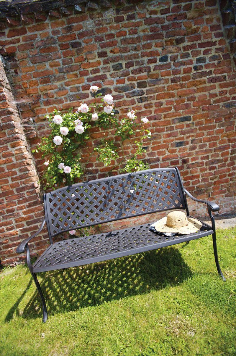 Bramblecrest Rimini Bench Link: http://www.hayesgardenworld.co.uk ...