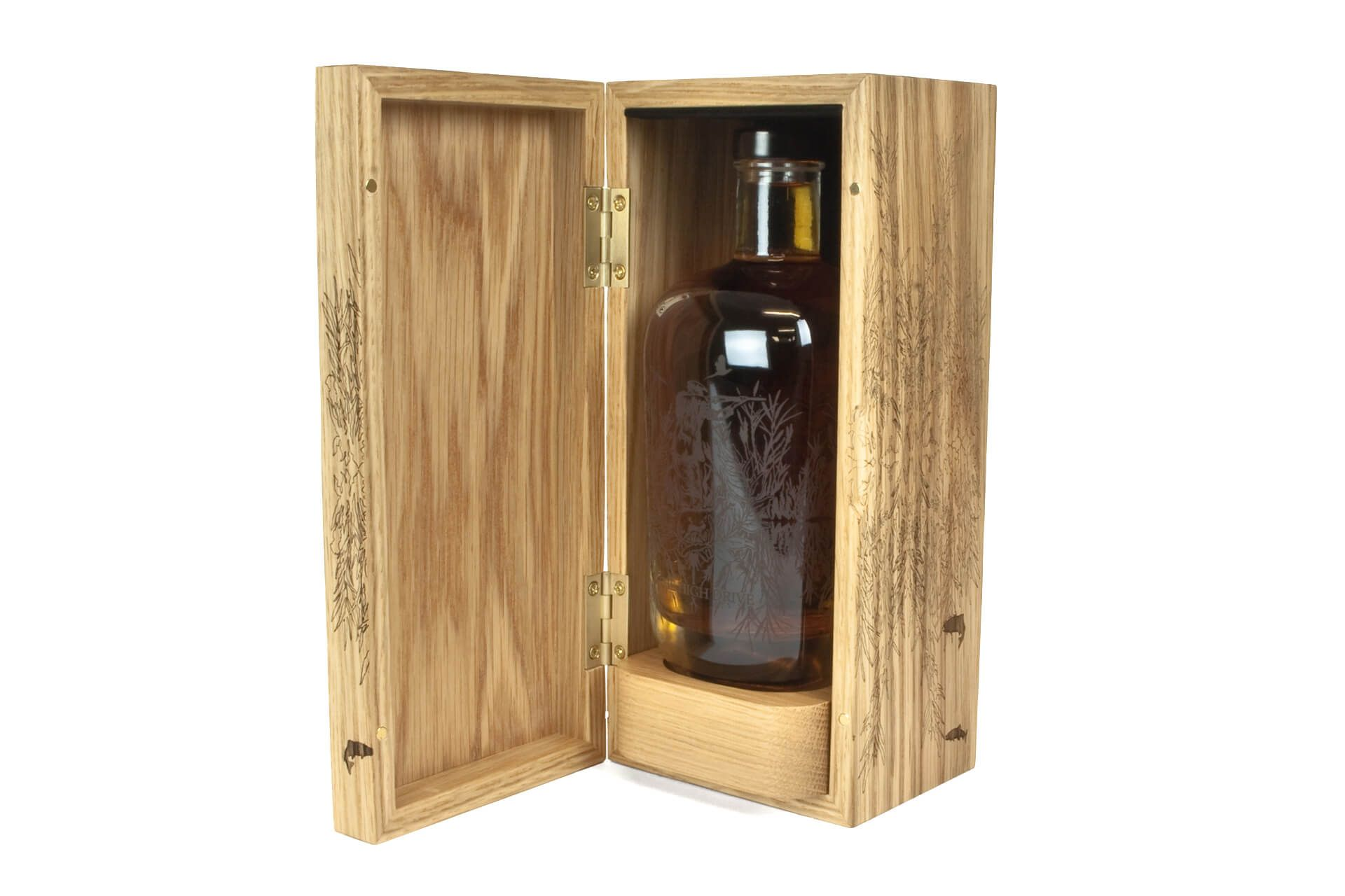 Wooden Whisky Box Luxury Box Packaging Wood Products Uk