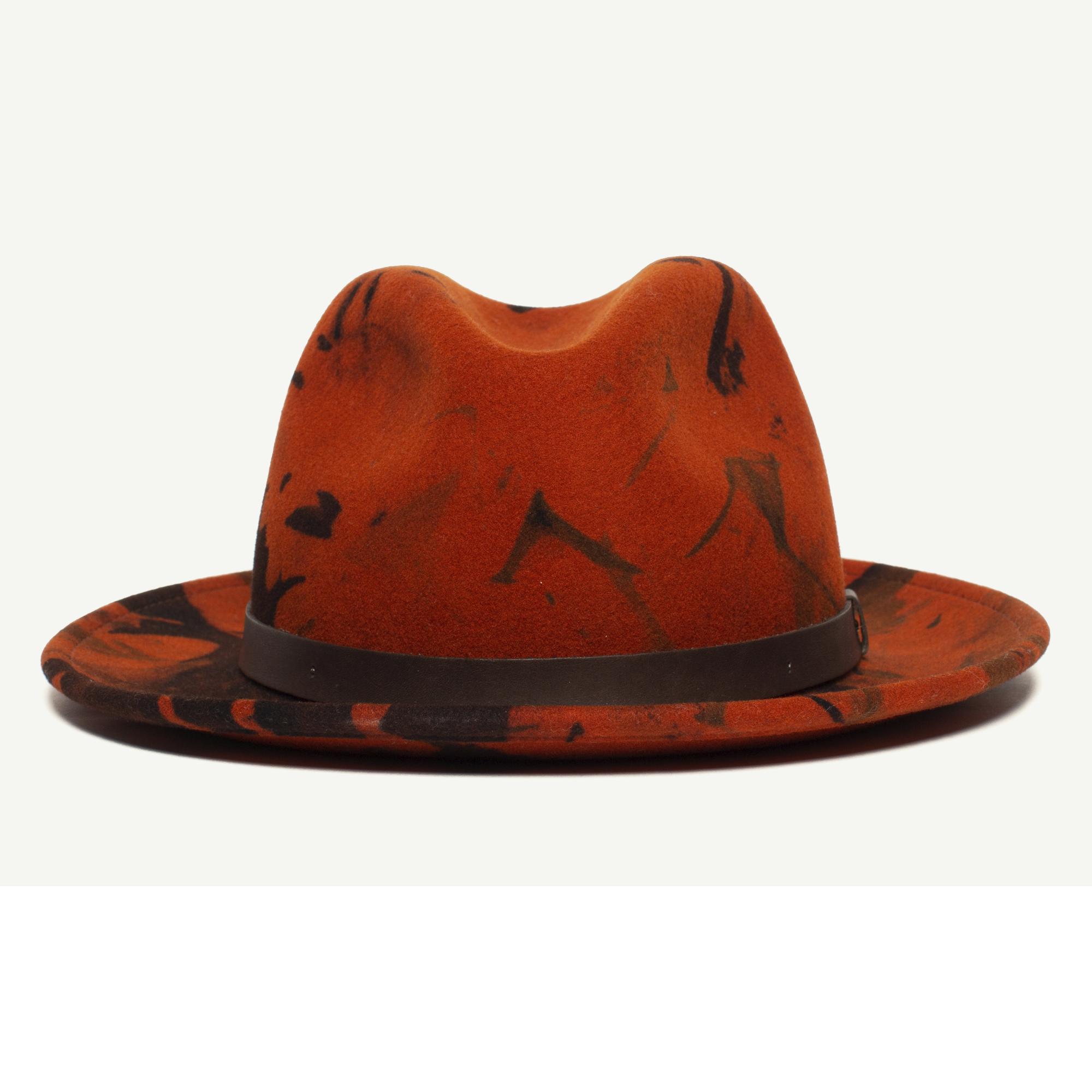 435da848e3808f Dean The Butcher Pumpkin Wool Fedora Hat | Goorin Bros. Hat Shop ...