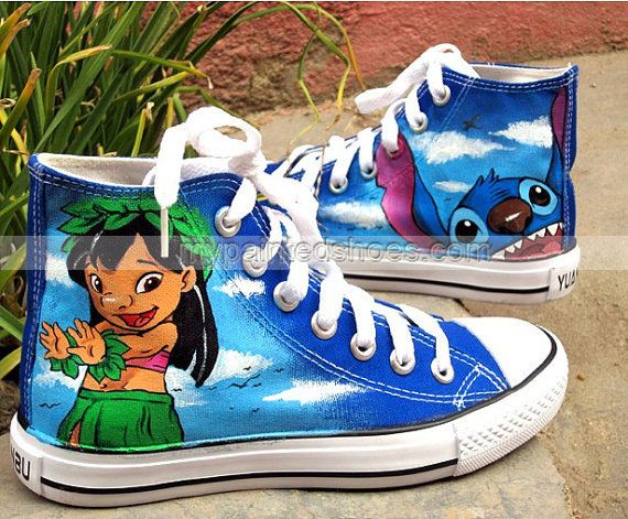 Stitch Anime Lilo Stitch Shoes Custom Sneaker Shoes Lilo Stitc