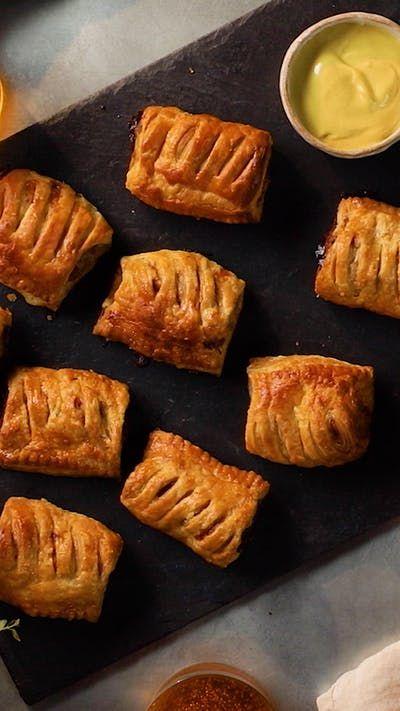 Classic Sausage Rolls ~ Recipe