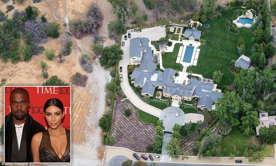 Aerial Photos Expose Celebrities Continuing To Water Lawn In Drought