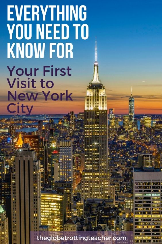 Everything You Need To Know For Your First Visit To New York City - 12 things to see on your trip to new york city