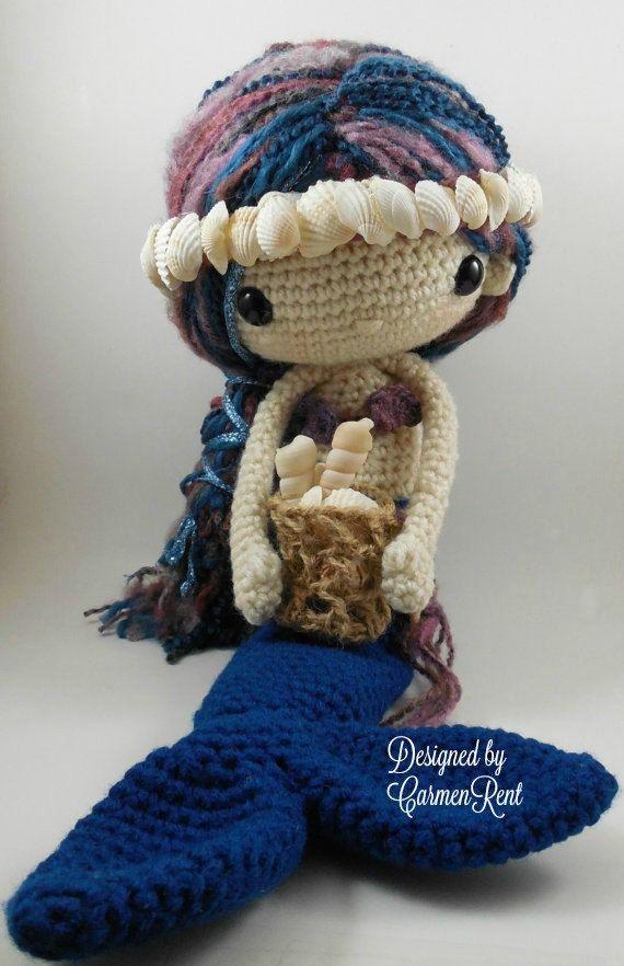 Sabrina - Amigurumi Doll Crochet Pattern | Muñecos de ganchillo ...