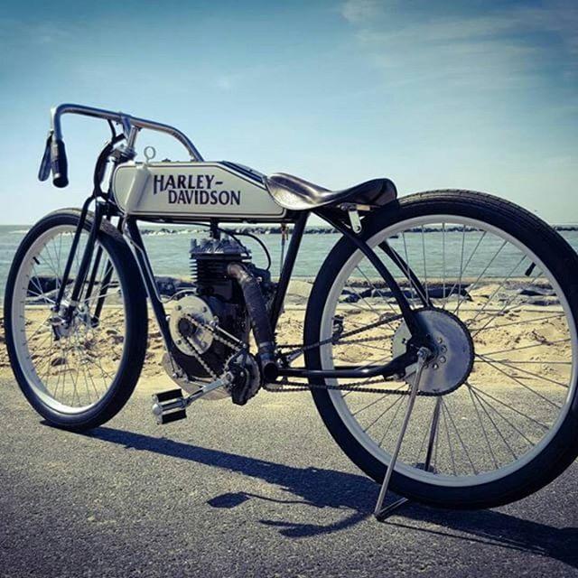 Stichtersharpening 1924 Harley Davidson Board Track Racer Replica 1948 Briggs