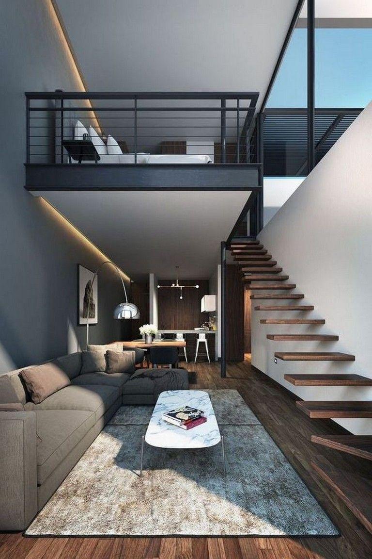 50 Lovely Architecture Living Room Home Decor Ideas Modern Home Interior Design Loft Design Modern Houses Interior
