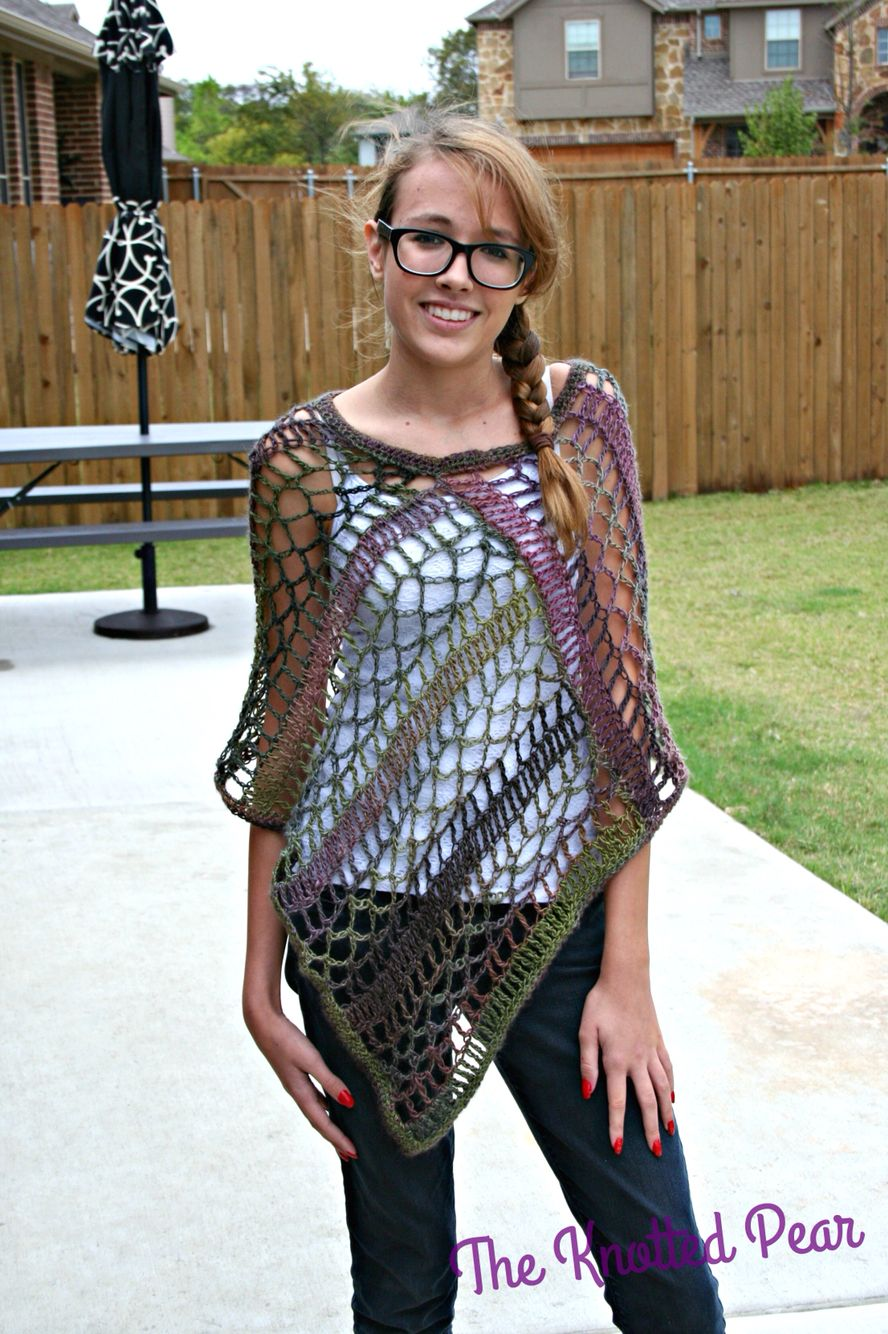 24 Lots Of Inspiration Crochet Poncho Design
