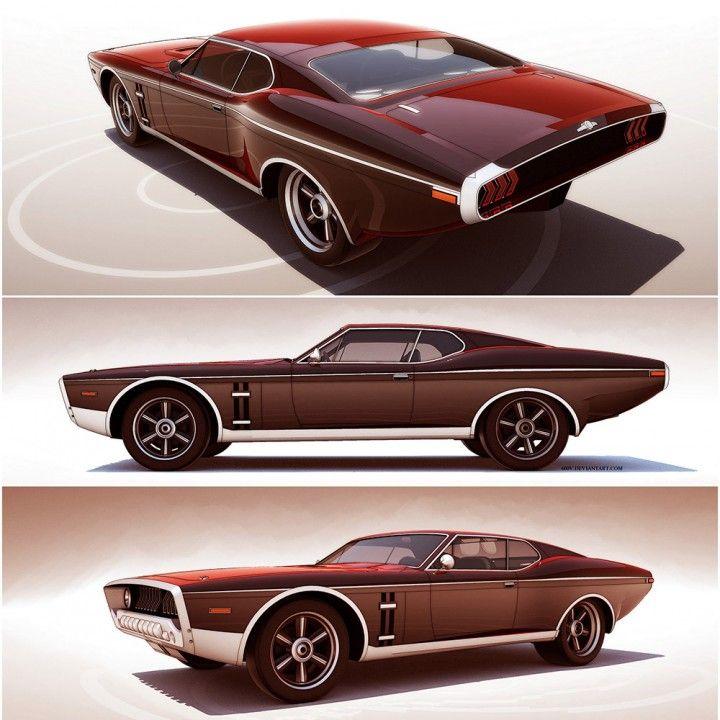 Retro Futuristic Concepts By 600v Car Body Design Dream Garage