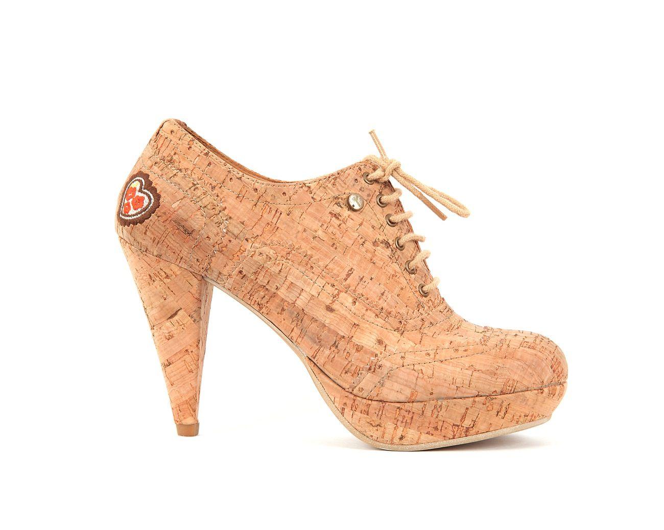 Oxford Curação   Natural  by rutz   walk in cork #cork   #shoes   #heels   #wedges   #fashion   #apparel   #portugal   #rutz   #kurk   #corcho   #boots   #botas   #ankleboots