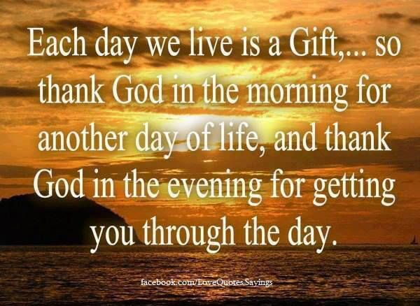 Thank You God Good Morning Everyone Have A Blessed