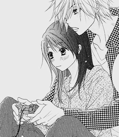 Couple Playing Video Games Manga Couple Manga Love Anime