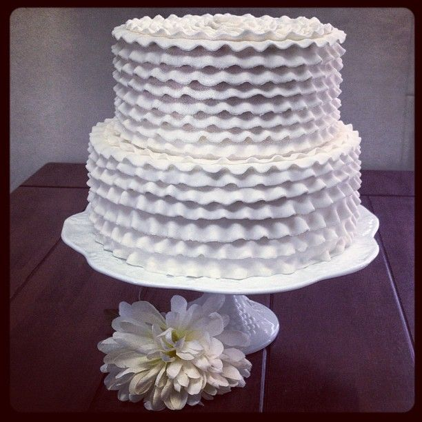 Ruffle Cake - The Sweet Divine