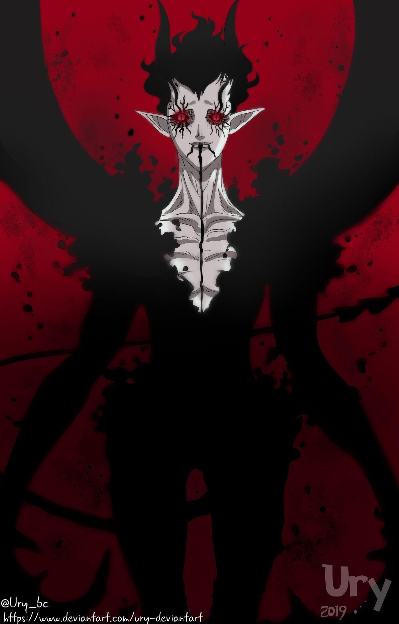 Clover Asta Demon Full Hd Black Clover Wallpaper