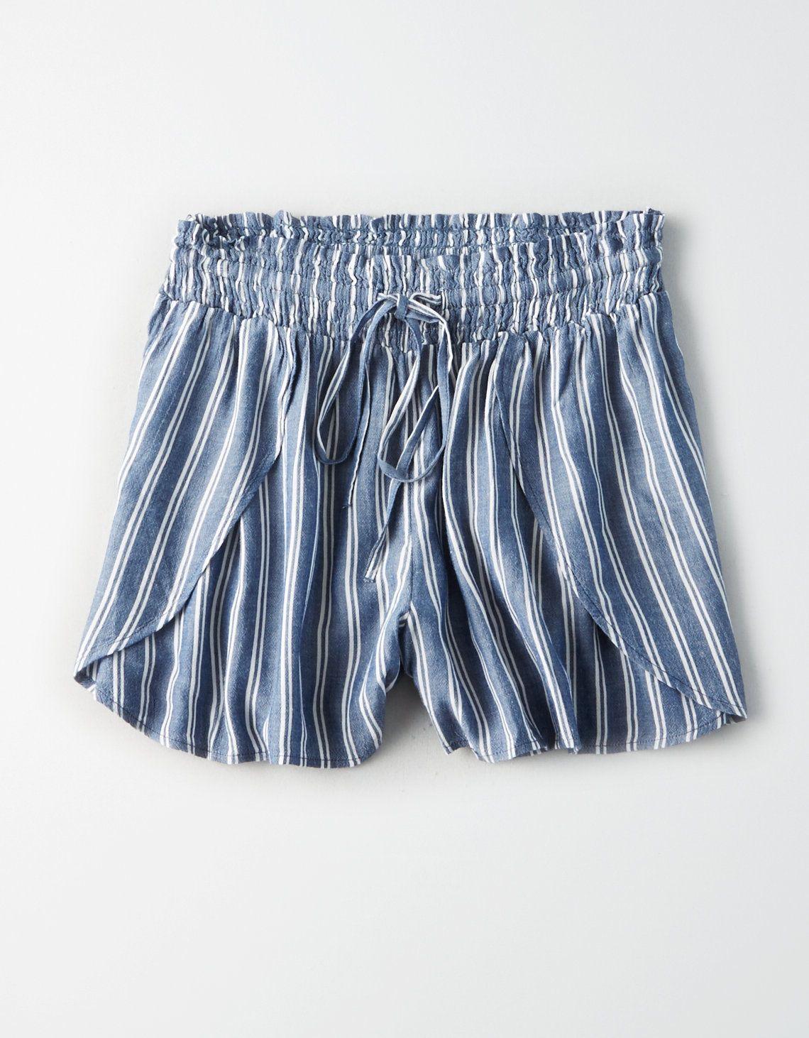 6ac45e6e6f AE Plaid Paperbag Short in 2019 | New Arrivals | Soft shorts ...