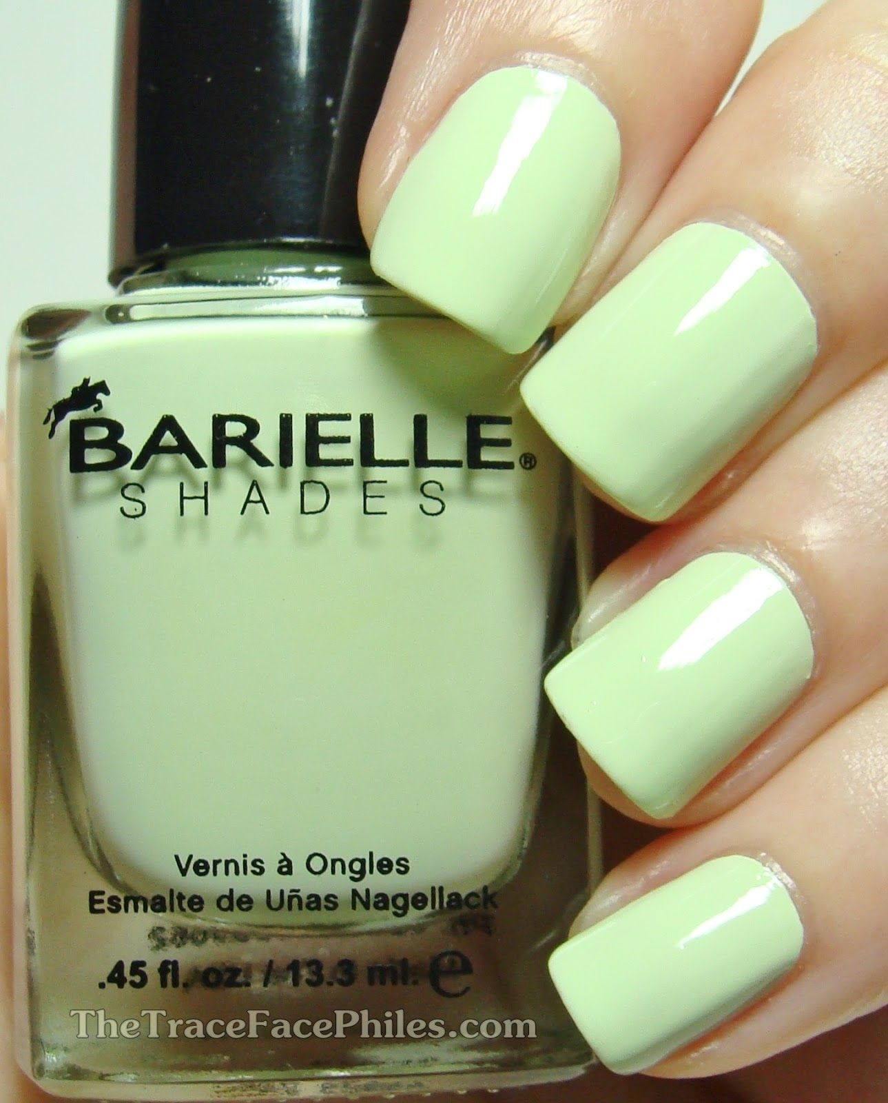 The TraceFace Philes: Barielle Mint Ice Cream Cone | My NAILS ...