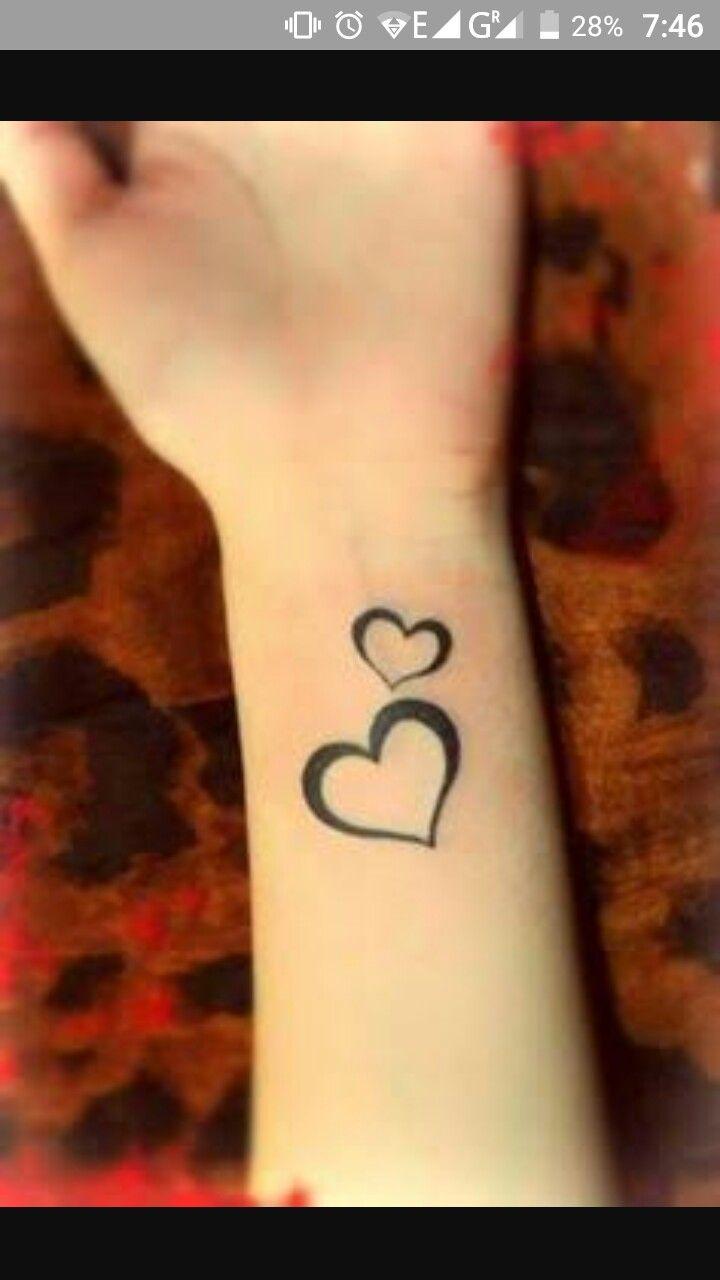 Cool tattoo ideas girls pin by tanya on love u  pinterest