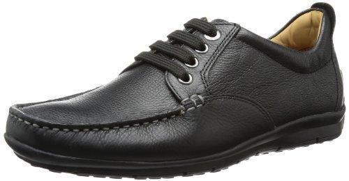Geox U Efrem a, Zapatos de Cordones Oxford para Hombre, Braun (DK BROWNC6006), 42.5 EU