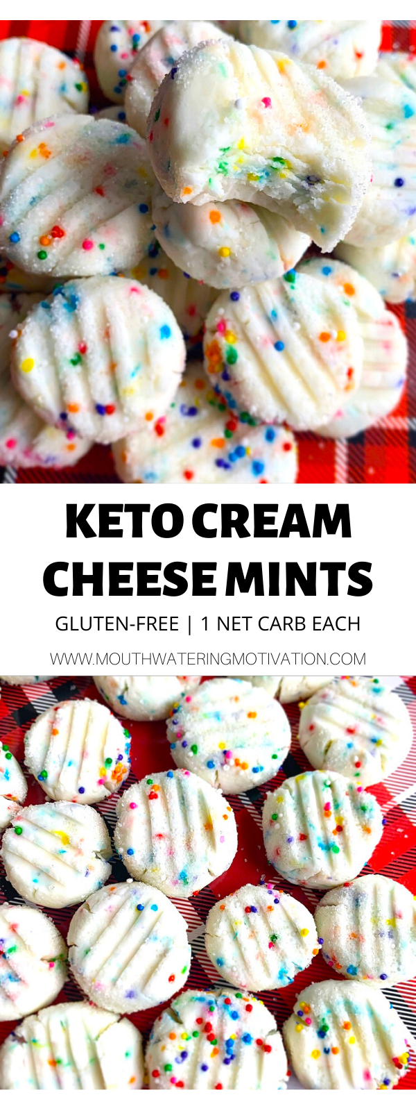 Keto Cream Cheese Mints (No Bake) #atkinsmeals