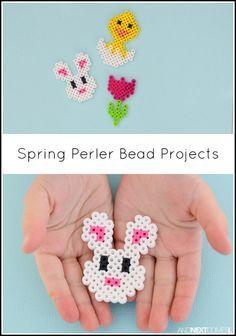Spring & Easter Perler Bead Patterns