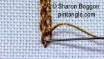 Linked Chain stitch 6