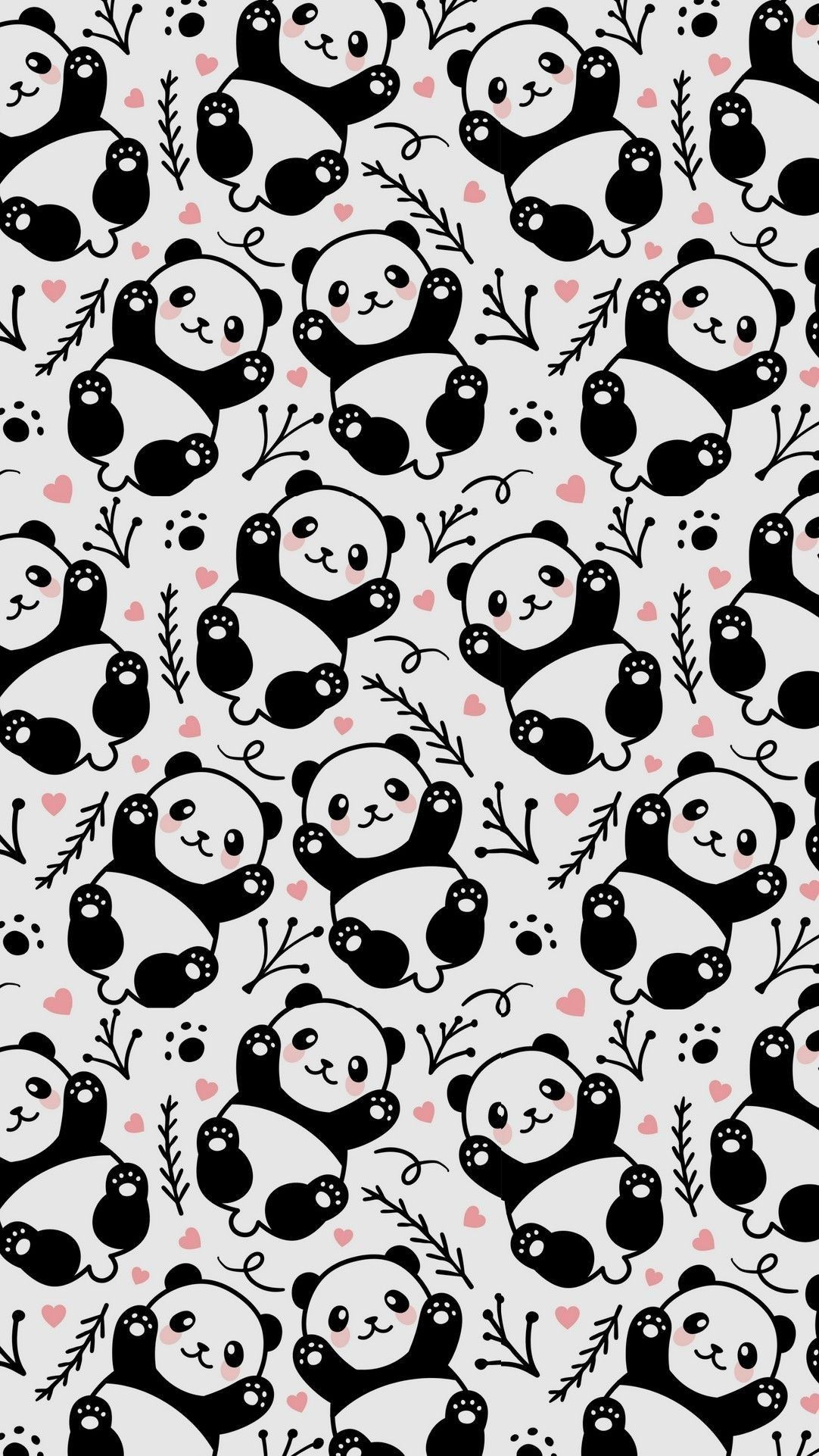 Pandas wallpaper 🐼🐼 PANDAMONIUM =0D in 2019