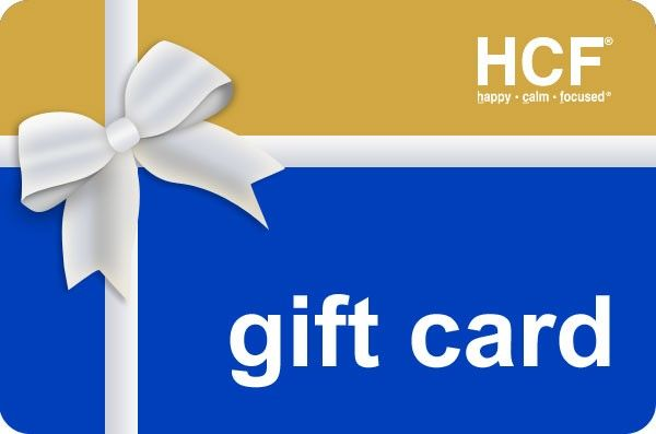 This is an electronic Gift Card you can send to your friends and your loved ones by email to use when they order HCF. Help them be Happy, Calm & Focused.