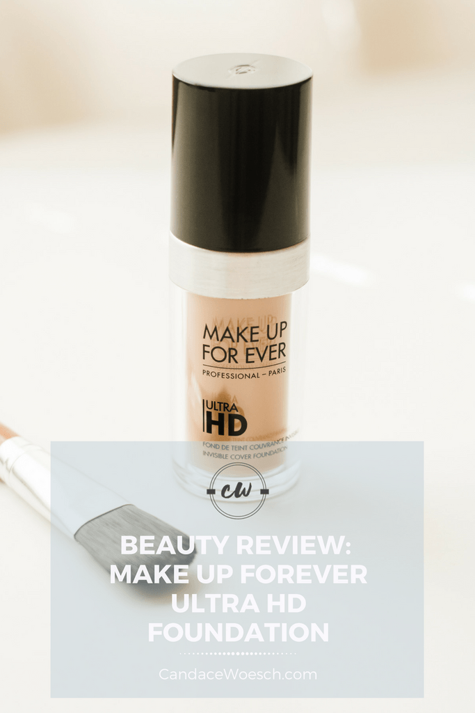 Review of the Make Up Forever Ultra HD foundation