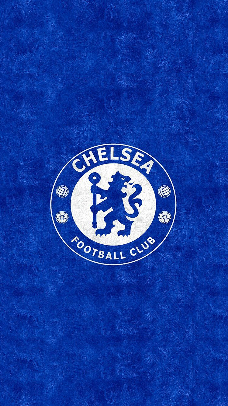 CHELSEA FOOTBALL EPL LOGO SPORTS WALLPAPER HD IPHONE
