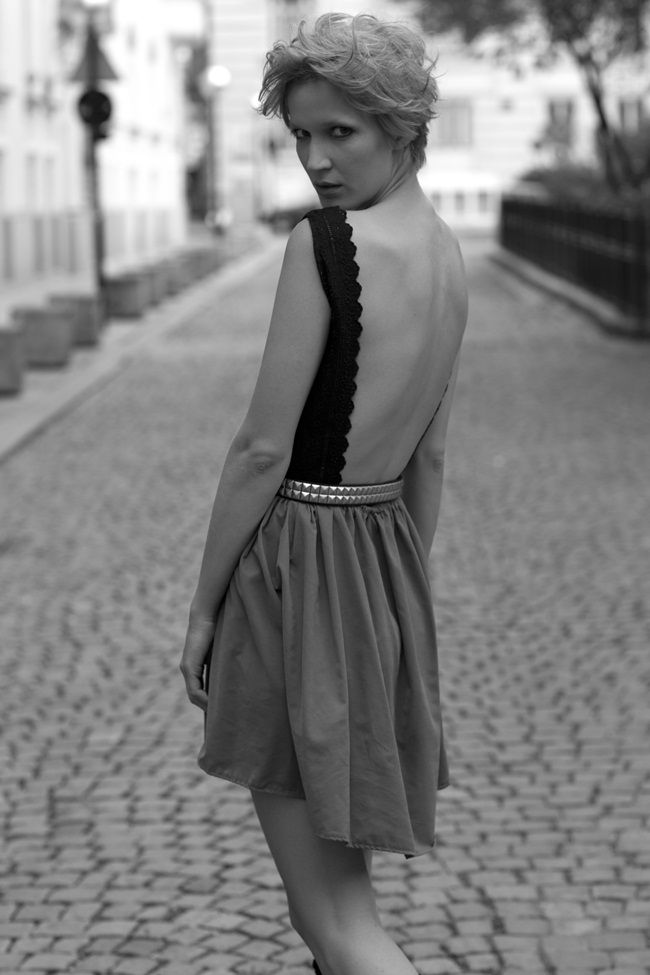 Another backless dress by me | Pinterest | Pattern fashion, Dress ...