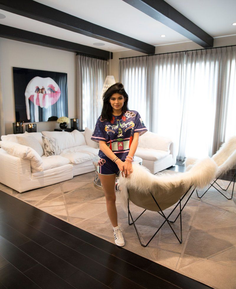 Kylie Jenner Living Room