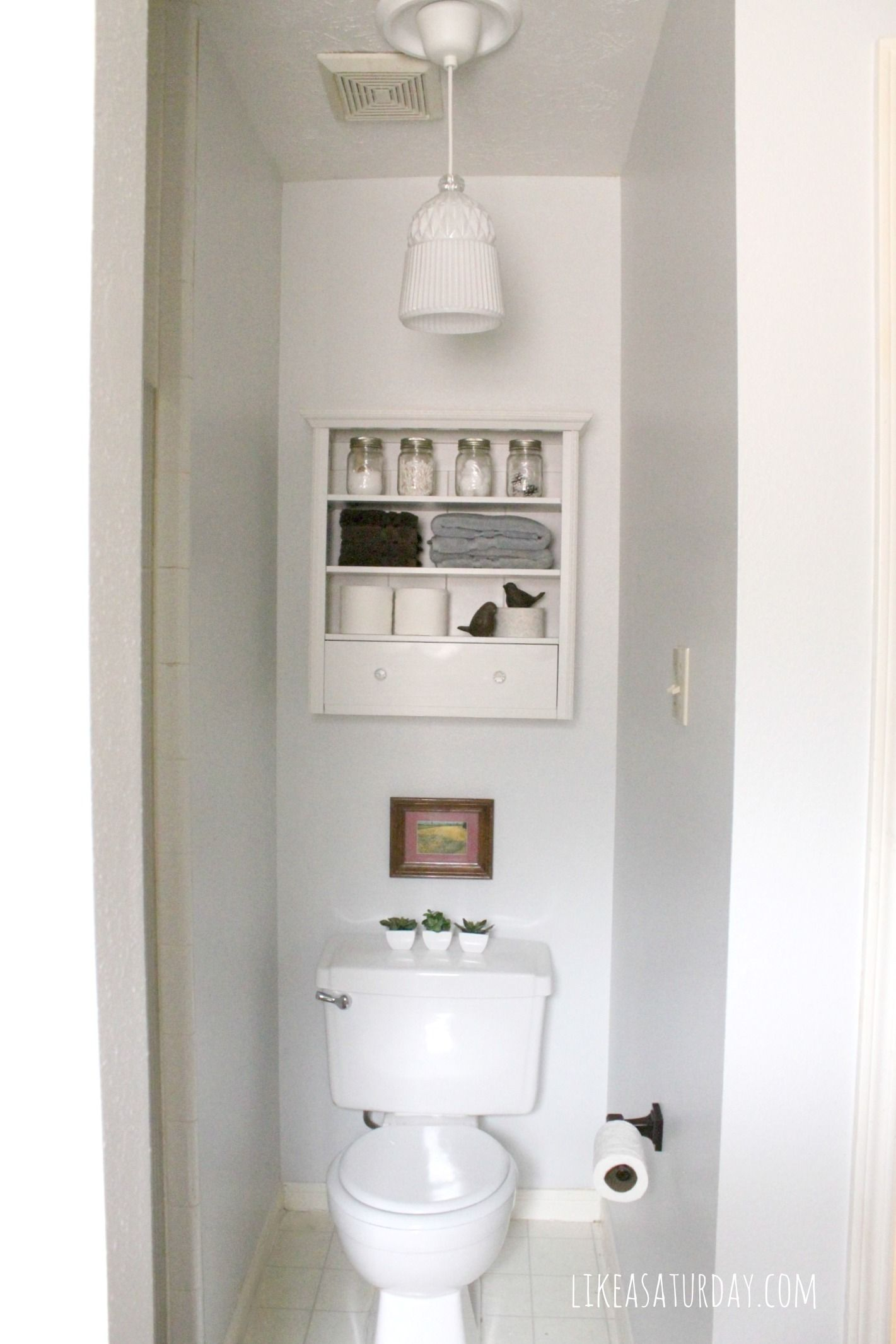 Water Closet Storage Above Toilet To Fit Tp Cleaner And Chuck S Magazines